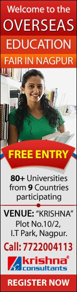 Overseas Education Fair at #Nagpur for higher studies. Date: Wed 17th May 2017 Time: 11.30 am to 6.30 pm Special privileges being offered to students Free Entry. No service charges for admissions.  Register Now: http://events.studies-overseas.com/Events/FairDetails?fair=3-Nagpur