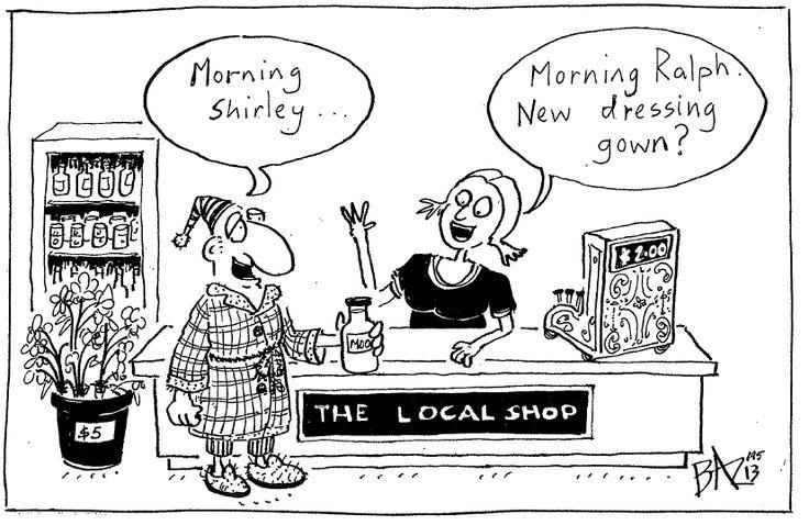 Shop, eat, support, enjoy local!