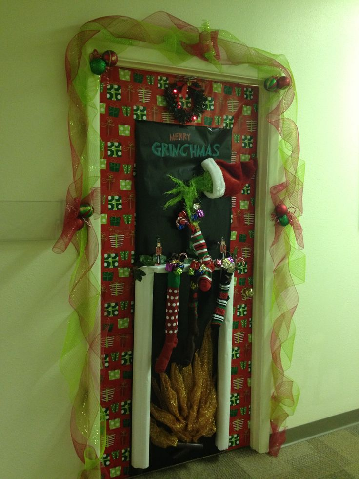How the grinch stole christmas door decorating ideas for 95 decoration