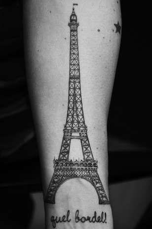 40 best images about tatuagens on pinterest paris small for Paris tattoos charlotte