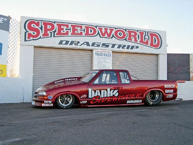 Pro Stock S10 : Gale banks chevy s former nhra pro stock truck