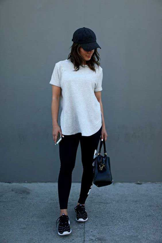 "The athleisure trend has been big for a while now, but between the reemergence of Adidas as a popular brand, baseball caps being ""in,"" and sneakers popping up on every style star, I think it is especially gaining traction this summer. For those who have no idea what I'm talking about, athleisure refers to that … Read More"