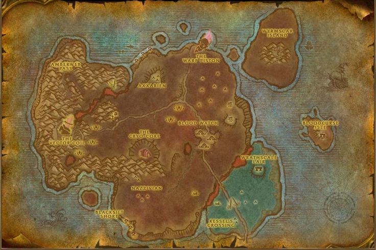 Bloodmyst Isle Map with Locations, NPCs and Quests - World of Warcraft