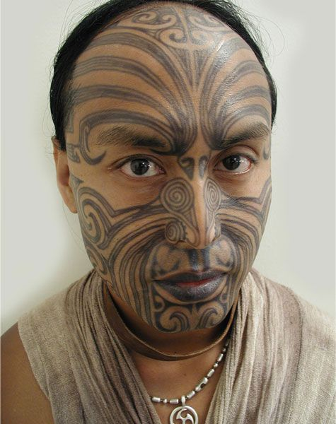 inuit face tattoo - Google Search