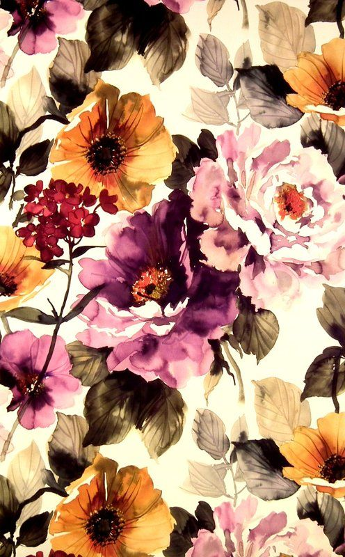 Gardenia Grape (19914-808) – James Dunlop Textiles | Upholstery, Drapery & Wallpaper fabrics