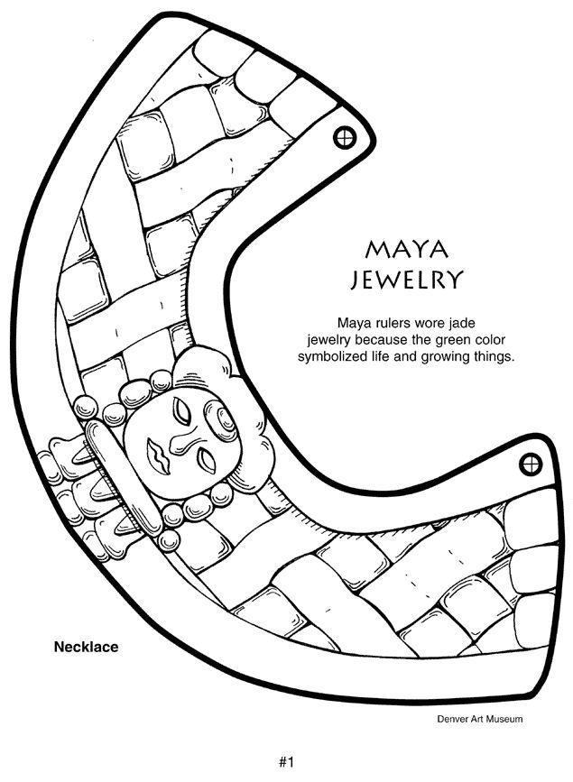 Mayan Crafts- Kids