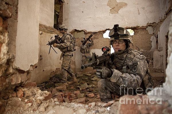 U.s. Army Rangers In Afghanistan Combat