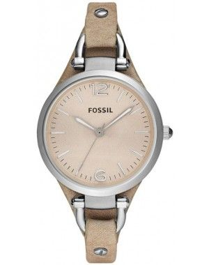 Fossil Georgia Leather - Watches - Womens