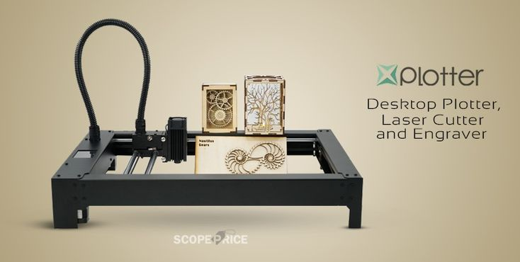 XPlotter is an affordable and easy to use desktop CNC (Computer Numerical Control) Plotter, Laser Cutter and Engraver.