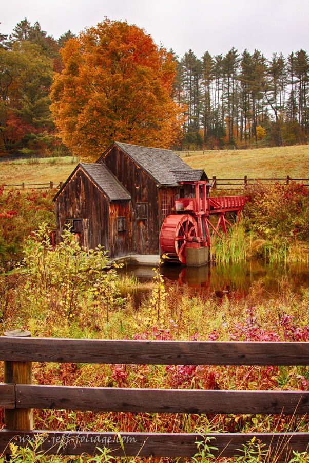 Old Crawford Farm Grist Mill | New England