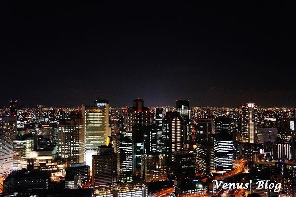 (圖) 用大阪最棒的兩處夜景,跟大家說晚安。【大阪夜景推薦】梅田空中...