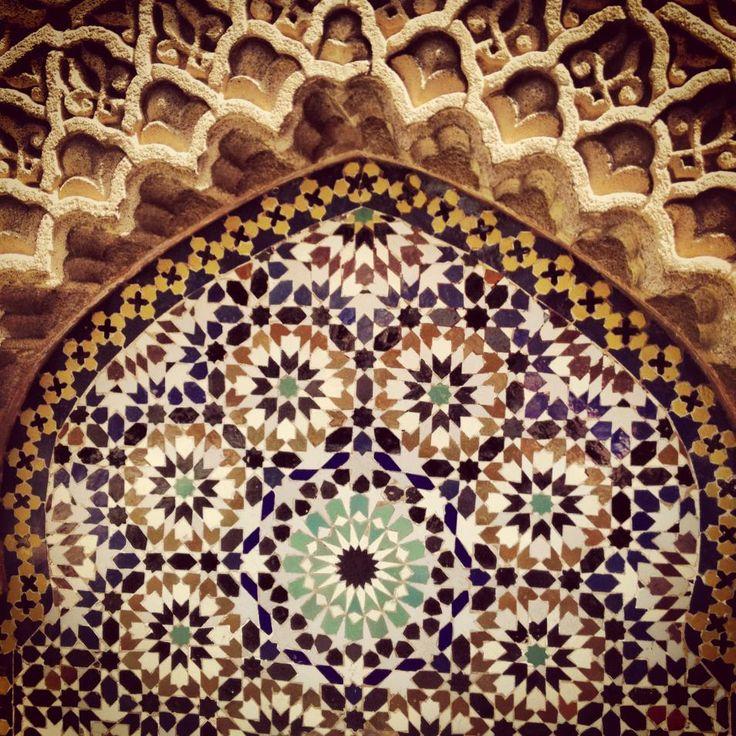Картинки по запросу марокканский национальный узор, бело-синий