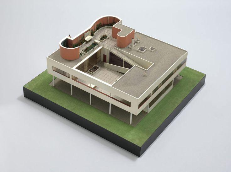 Model for VILLA SAVOYE • Poissy, France • Le Corbusier, http://www.fondationlecorbusier.fr