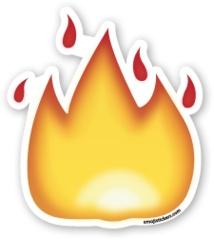 Fire | Emoji Stickers