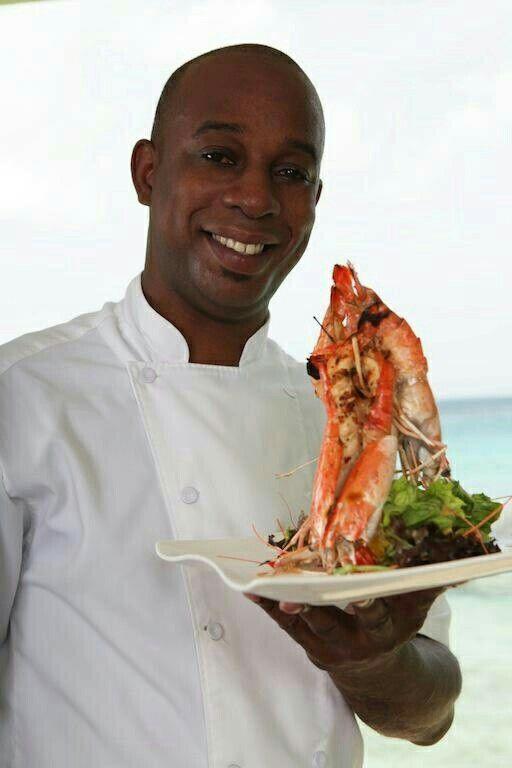 -Lobster at Fishpot Restaurant Barbados..