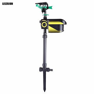 Solar powered Motion Activated Animal Away Sprinkler Water Jet Blaster Animal Pest RepellerGarden Scarecrow (32745721839)  SEE MORE  #SuperDeals