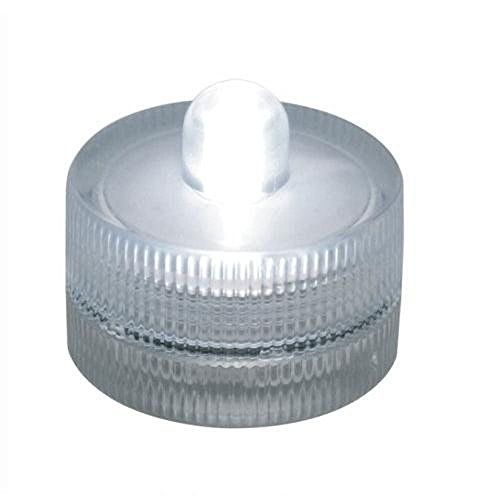 10 Submersible Battery LED LightsWHITEWeddingTea Light ** Details can be found by clicking on the image.