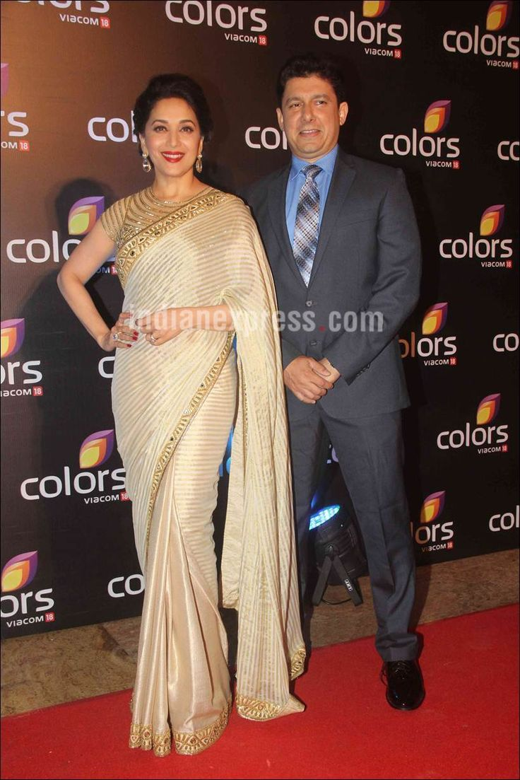 madhuri-husband-in-Colors-Annual-Party.jpg (820×1229)