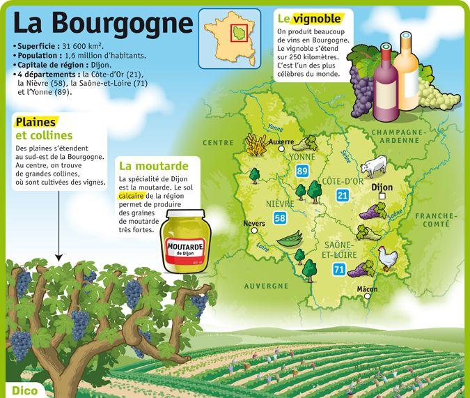 Fiche exposés : La Bourgogne