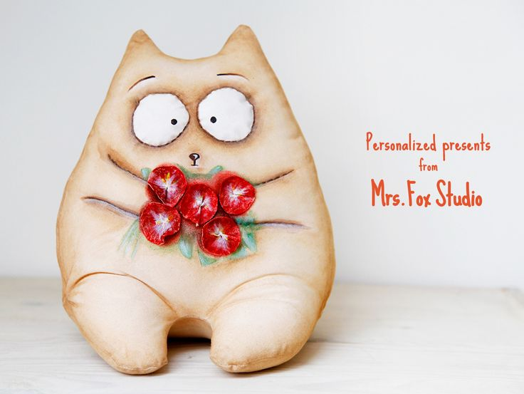 Personalized stuffed cat is a perfect present for everyone!