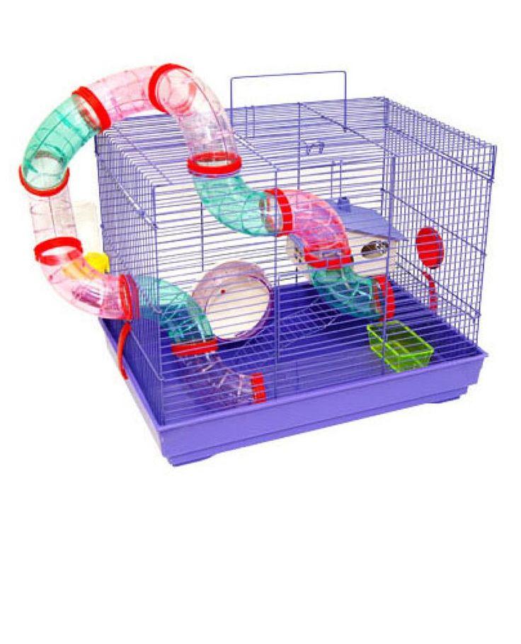 A Gaiola para Hamster Pet Funny com Tubo Externo é confortável, com segurança e ótimo espaço interno e um produto com qualidade e acabamento impecáveis, que garanta segurança necessária para acomodar seu pequeno pet.