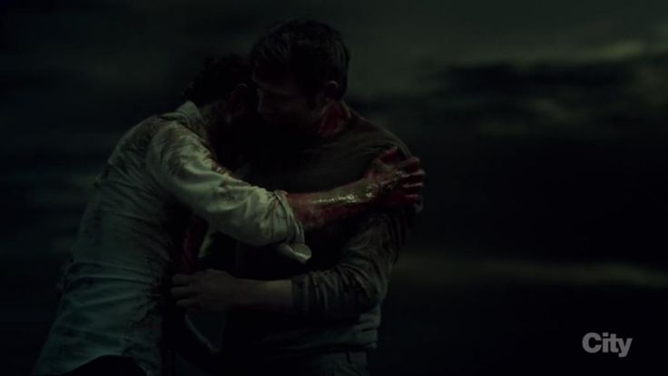 """This is all I really wanted for you, Will...for both of us."" ""It's Beautiful."" #HannibalFinale"