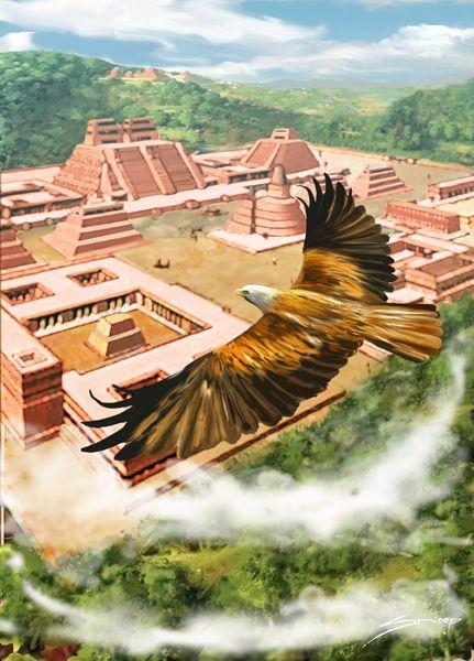 Tenochtitlán Reuniéronse las tribus mexicanas y bajo el buen sol edificaron la capital de un nuevo imperio. PorSnoop