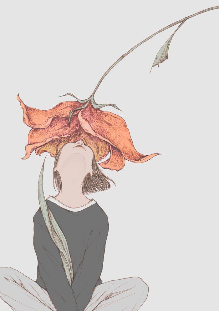 of yours, a secret | Illustration Inspiration