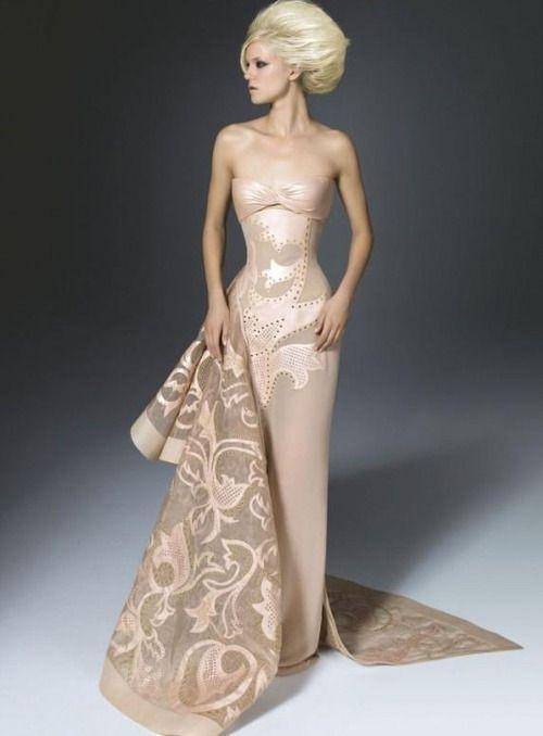 18 best Bridal Versace images on Pinterest | High fashion, Evening ...