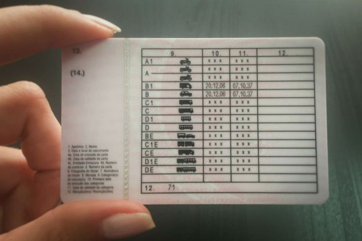 Carteira de motorista em portugal como tirar ou