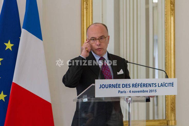Paris : Réunion des référents laïcité avec Najat Vallaud-Belkacem - Politique - via Citizenside France. Copyright : Christophe BONNET - Agence73Bis