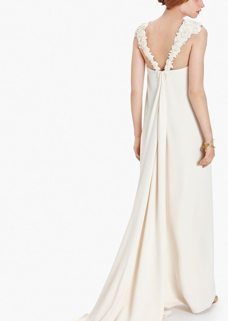 Vestido novia crudo PEDRERA. Etxart&Panno - Tienda Online Oficial