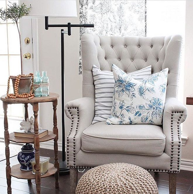 Free Interior Small Accent Chairs For Bedroom For Comfy: 269 Best FARMHOUSE HOME DECOR / STYLE Images On Pinterest