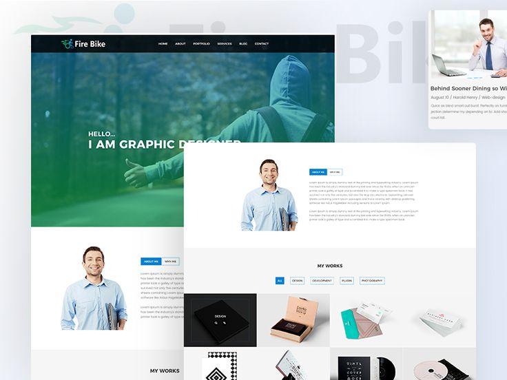 "Check out my @Behance project: ""Fire Bike - Personal Portfolio Website Design"" https://www.behance.net/gallery/50582731/Fire-Bike-Personal-Portfolio-Website-Design"