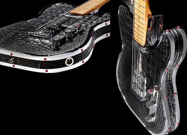 Rock Royalty y sus guitarras de lujo