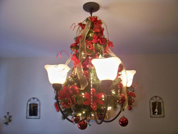 my 2011 christmas chandelier decor angie gail christmas