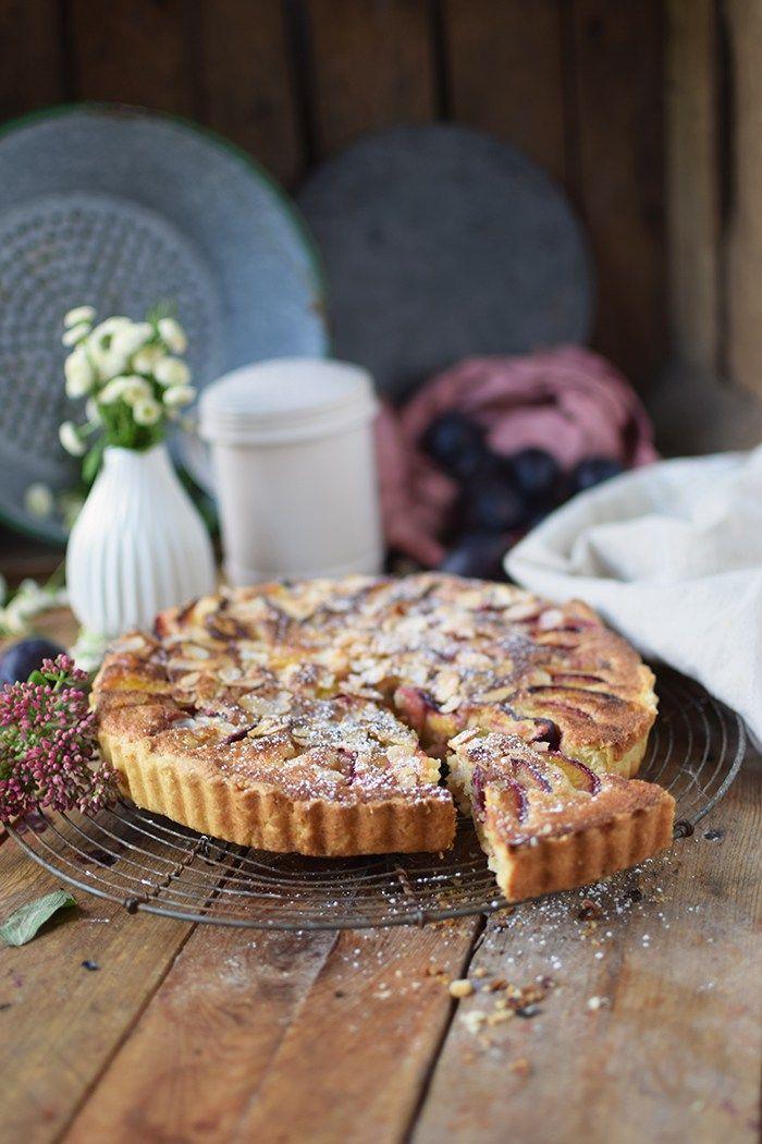 Pflaumen Mandelkuchen - Plum Almond Cake   Das Knusperstübchen