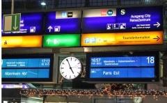 TGV and ICE Trains from Paris to Frankfurt, Stuttgart, and Munich