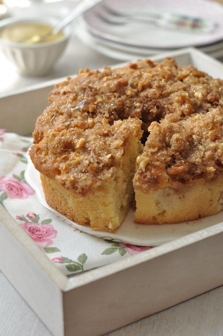 Almás-mézes süti