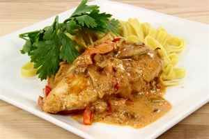 Pikant kylling i fad 02, billede 4