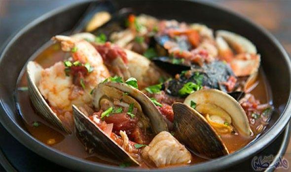 وصفة تحضير حساء فواكه البحر للاستفادة من فوائده Cioppino Recipe Chicken Tikka Masala Recipes Italian Fish Stew