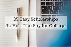 25 scholarships college kids can apply for