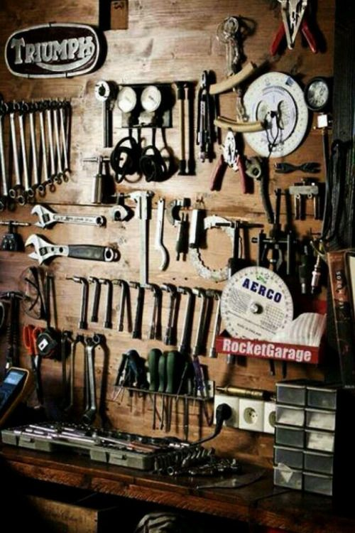 Garage, ideas, man cave, workshop, organization, organize, home, house, indoor, storage, woodwork, design, tool, mechanic, auto, shelving, car.