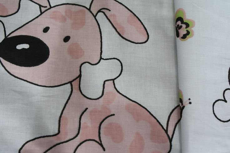 This nice cotton fabric is ideal for sewing pillowcases, curtains. Prices and quantity shown are per 160 cm x50 cm piece.  Nice dogs printed cotton ideal for duvets and curtains ;) only 4e per running metre BIG SALE