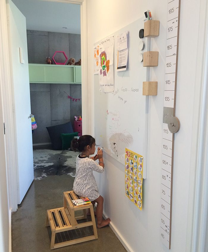 Magnetic, Dry Erase Whiteboard, made from 1.1mm gal steel, overlaid with durable dry erase film. Folded edges for canvas like mount to wall, Wall Scrawl.