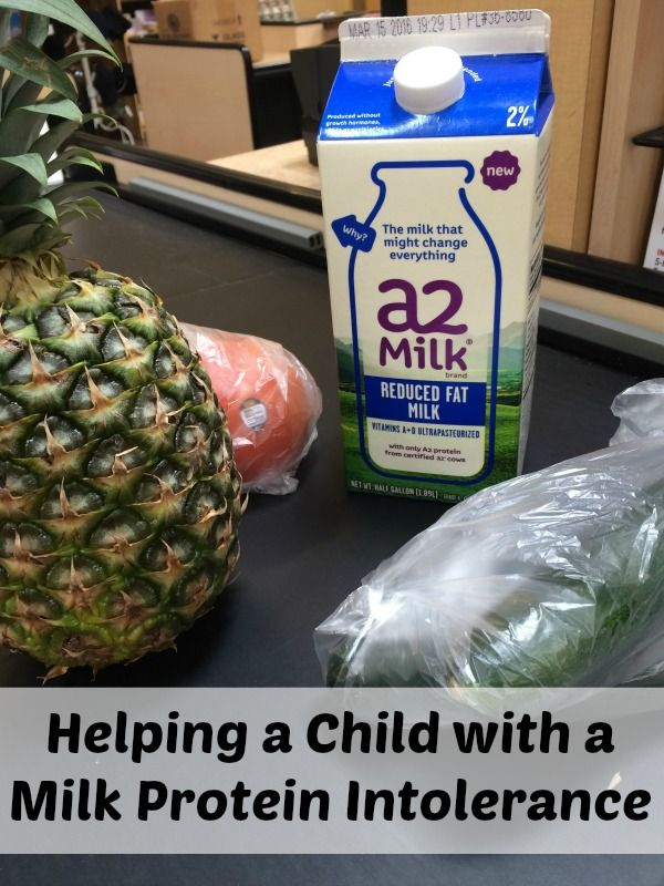 Check out these tips on how to help your child with a milk protein intolerance. here are many ways to help but the starting place should start with milk. AD #a2milk #IC