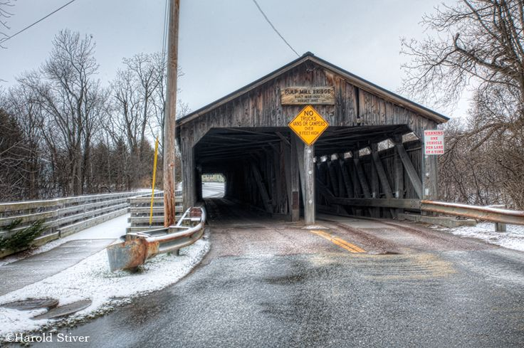 Pulp Mill (Paper Mill) Covered Bridge, Vermont