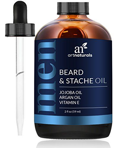 ArtNaturals Beard Oil and Conditioner - 2 Fl Oz - Pure and Natural Unscented - for Groomed Beard Growth, Mustache, Face and Skin #ArtNaturals #Beard #Conditioner #Pure #Natural #Unscented #Groomed #Growth, #Mustache, #Face #Skin