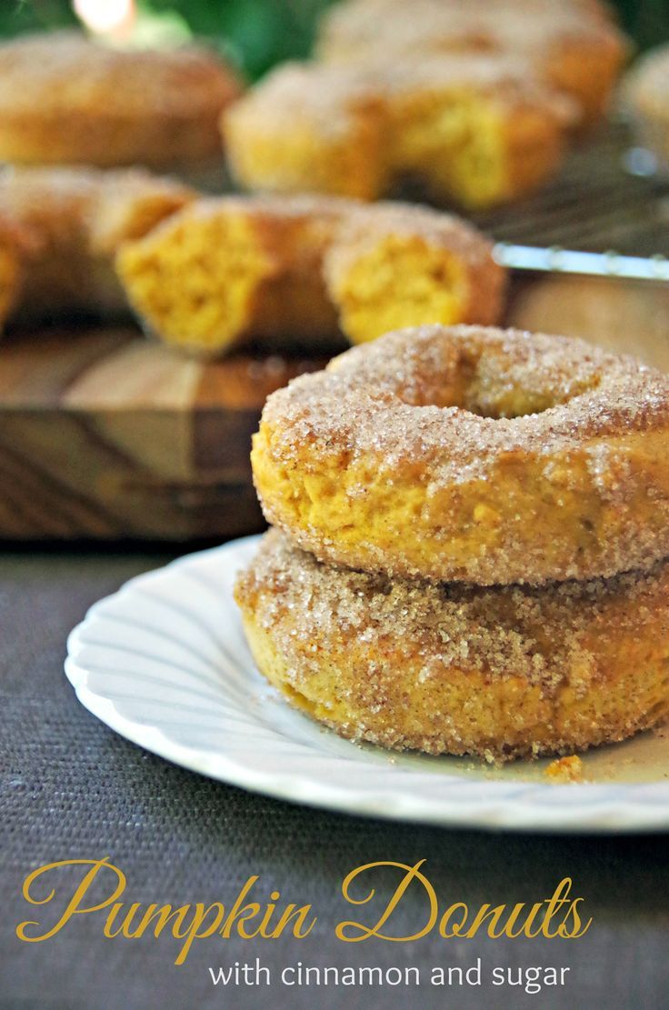 I recommend making a double batch of these pumpkin donuts because people will not stop eating at just one!  If you are looking for pumpkin recipes that your kids will love, I guarantee this will be a hit!