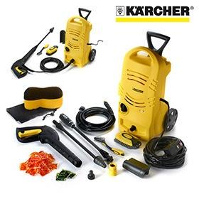 Karcher 1600 PSI Power Washer with Bonus Car Care Kit